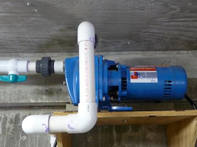 Rainwater Concrete Cistern